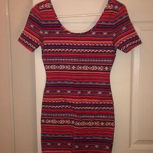 Aztec/Fiesta printed dress